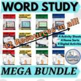Words Their Way™ Complete BUNDLE -3rd Ed -Home Sorts, Work