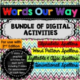 Words Our Way Digital Activities - a BUNDLE for Google Drive **2nd Edition**