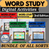 Words Their Way™  BUNDLE of ALL DIGITAL SORTS for 3rd Edition