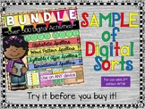Words Our Way - Sample of Digital Sorts for 2nd Edition -