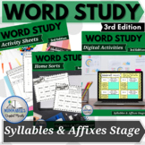 Words Our Way - Syllables & Affixes Spellers BUNDLE 3rd Edition