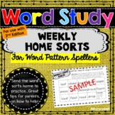Words Our Way - Within Word Patterns: Weekly Home Sorts 2nd Edition