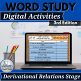Words Our Way for Derivational Spellers Digital Resource 3rd Edition