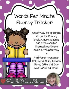 Words Per Minute Fluency Tracker