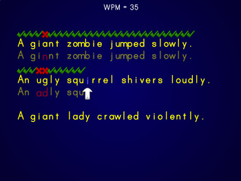 Words Per Minute - Keyboarding / Typing Game (Playable at