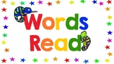 Words Read Posters