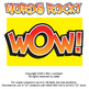 Words Rock! Cartoon Clipart