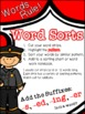 Words Rule: working with suffixes