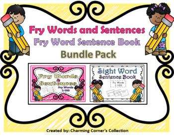 Words & Sentences Bundle Pack (Fry Words Set 1)