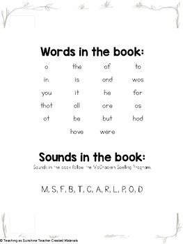 Words & Sounds Book 1