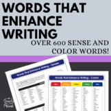 Words That Enhance Writing {FREE}