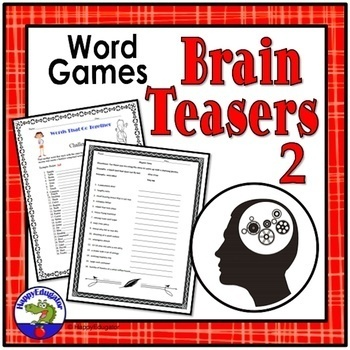Critical Thinking Brain Teasers and Word Games