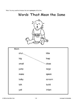 Words That Mean the Same