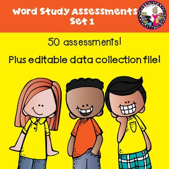 50 Assessments for Letter Name Alphabetic with Data Collection