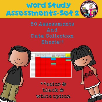 50 Assessments for Within Word Stage with Data Collection-Set 2
