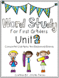 Words Their Way Aligned Lessons and Activities for 1st Graders Unit 2