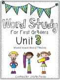 Words Their Way Aligned Lessons and Activities for 1st Graders Unit 3