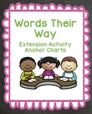 Words Their Way Anchor Charts