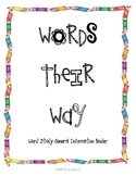 Words Their Way- Binder Information