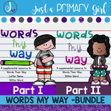 Words Their  Way Bundle