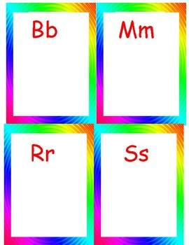 Multiple Letter Sound Sorts; Consonant Sort (Can be used with Words Their Way)