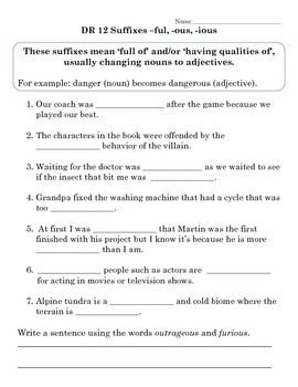 Words Their Way DR Sort Activities (Cloze/Fill in the Blank) DR 11-15