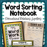 Words Their Way -- Derivational Relations Word Sorting Notebook
