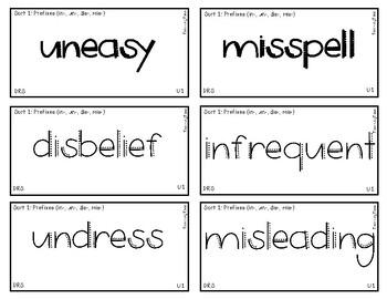 Words Their Way - Derivational Relations Spellers Sort Words BUNDLE