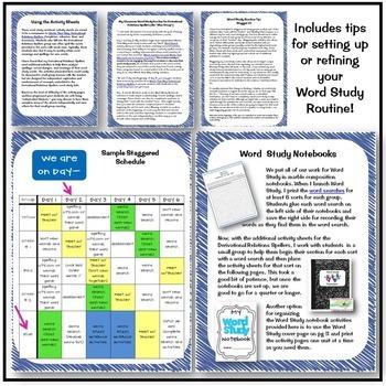 Derivational Relations Spellers Word Study Notebook FREEBIE