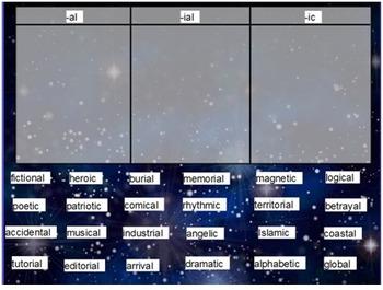 Words Their Way Derivational Relations sort11 flipchart