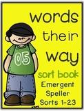 Words Their Way - Emergent Speller - Sorts 1-23 BUNDLED {s