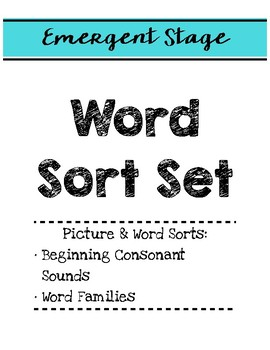 Words Their Way: Folder Covers