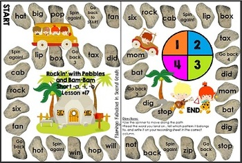 Word Study Games 15-17 (Letter Name Stage)
