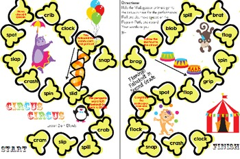 Word Study Games 21a - 22b (Letter Name Stage)