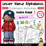 Letter Name Alphabetic Activities (Early Stage)