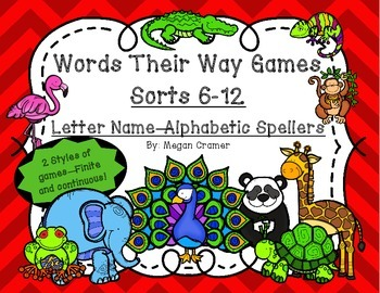 words their way sorts pdf