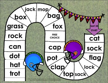 Words Their Way Games for Unit 5 Sorts 34-37 in Letter Name -Alphabetic Spellers