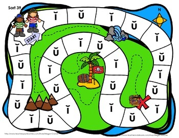 Words Their Way Games for Unit 6 Sorts 38-47 in Letter Name -Alphabetic Spellers