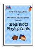 Words Their Way Greek Roots Playing Cards