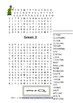Words Their Way Green book 59 Word Searches Find a words Syllables and affixes