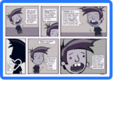 Themes in Reading Comic Strip