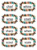 Words Their Way Individual Literacy Center Syllables & Affixes