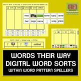 Words Their Way Digital Spelling Sorts - Within Word Pattern