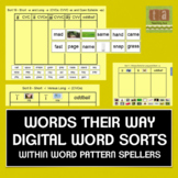 Words Their Way Interactive Sorts for the Smartboard -With