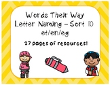 Words Their Way LN - Sort 10 - Resources