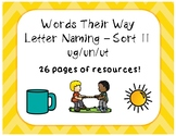 Words Their Way LN - Sort 11 - Resources