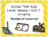 Words Their Way LN - Sort 9 - Resources