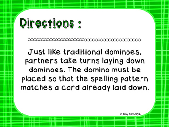 Words Their Way - Letter Name Alphabetic - Sort 17 Dominoes