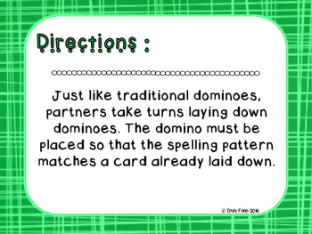 Words Their Way - Letter Name Alphabetic - Sort 18 Dominoes