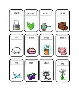 Words Their Way Letter Name Alphabetic Sort 21 Game